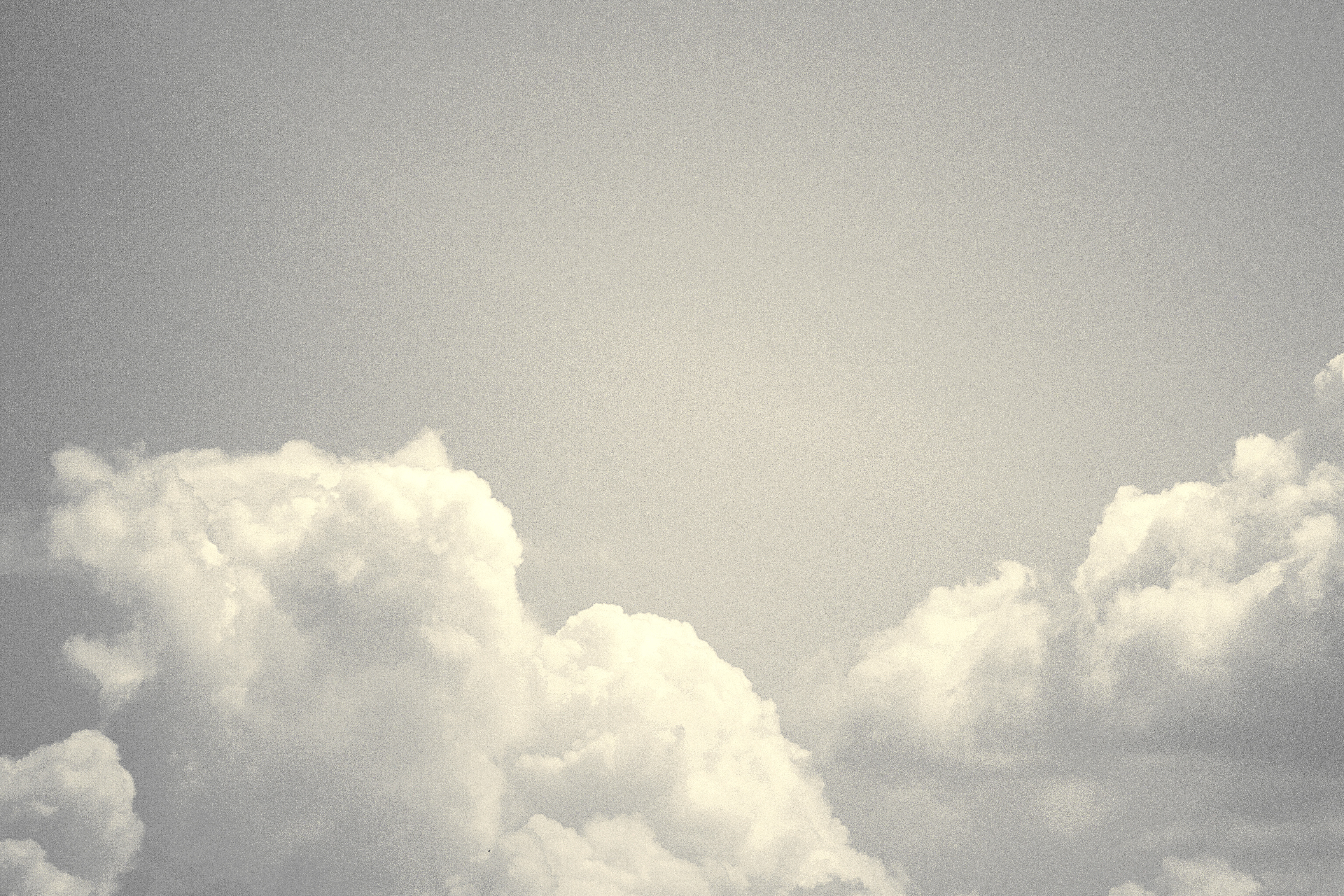 Aire Light, Light air, clouds, sky, black and white, gray, cotton