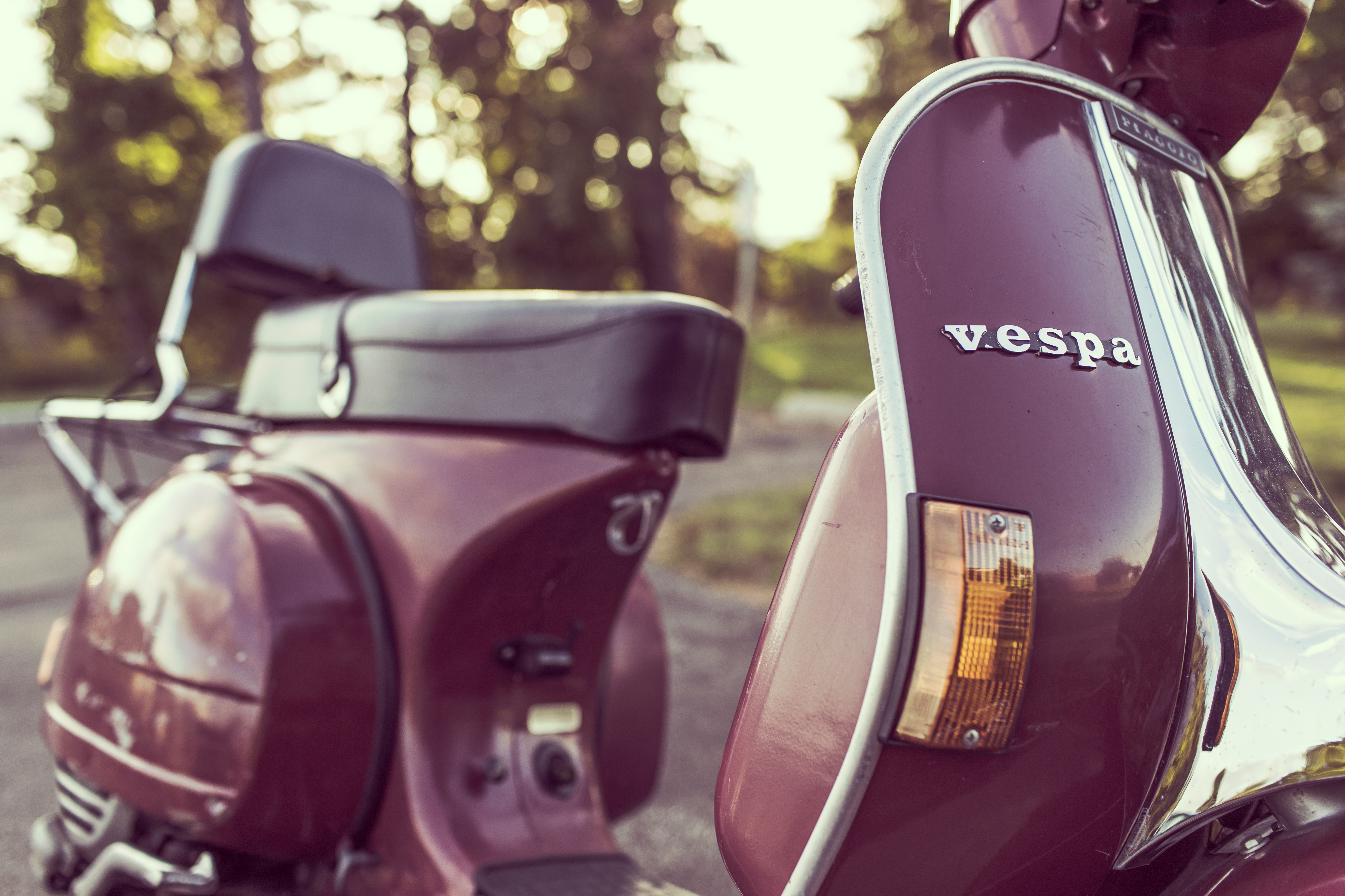 Classic Vespa, scooters, transportation, classic, italy
