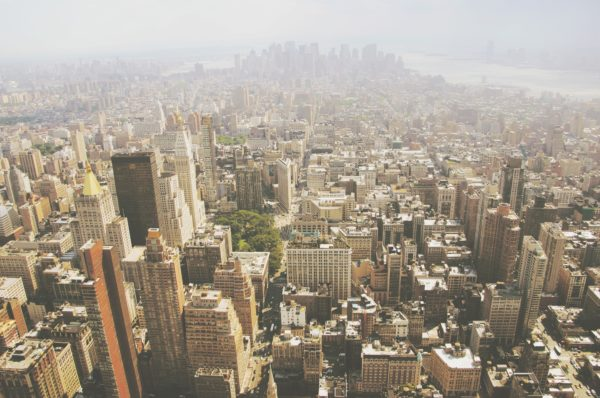 Manhattan, new york, island, street, city, buildings, skyscrapers
