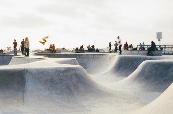 Skatepark, skate, skateboard, people, sports, park, table