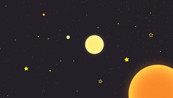 stars, universe, space, sun, infinite sky, solar system