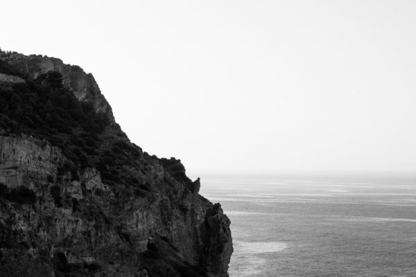 Cliff, sea, cliff, rocks, cliffs, white and black