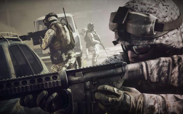 Battlefield 3, games, video games, war, fire, soldiers, weapons