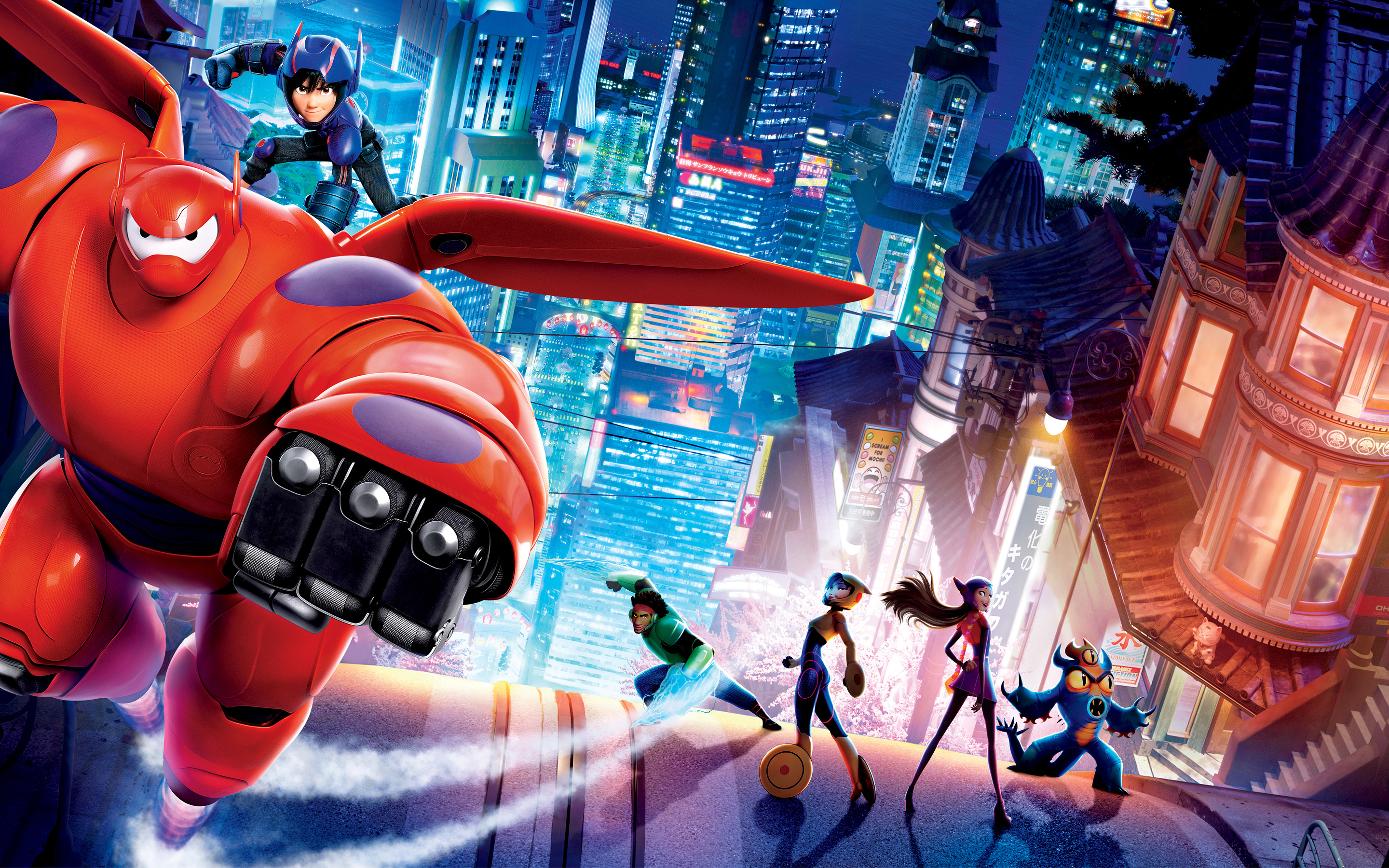 Big Hero 6, movies, disney, marvel, Big Hero 6, animation, animated, heroes, superhero