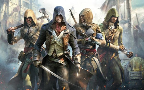 Assassins Creed Unity, video games, france, revolution, assassins creed