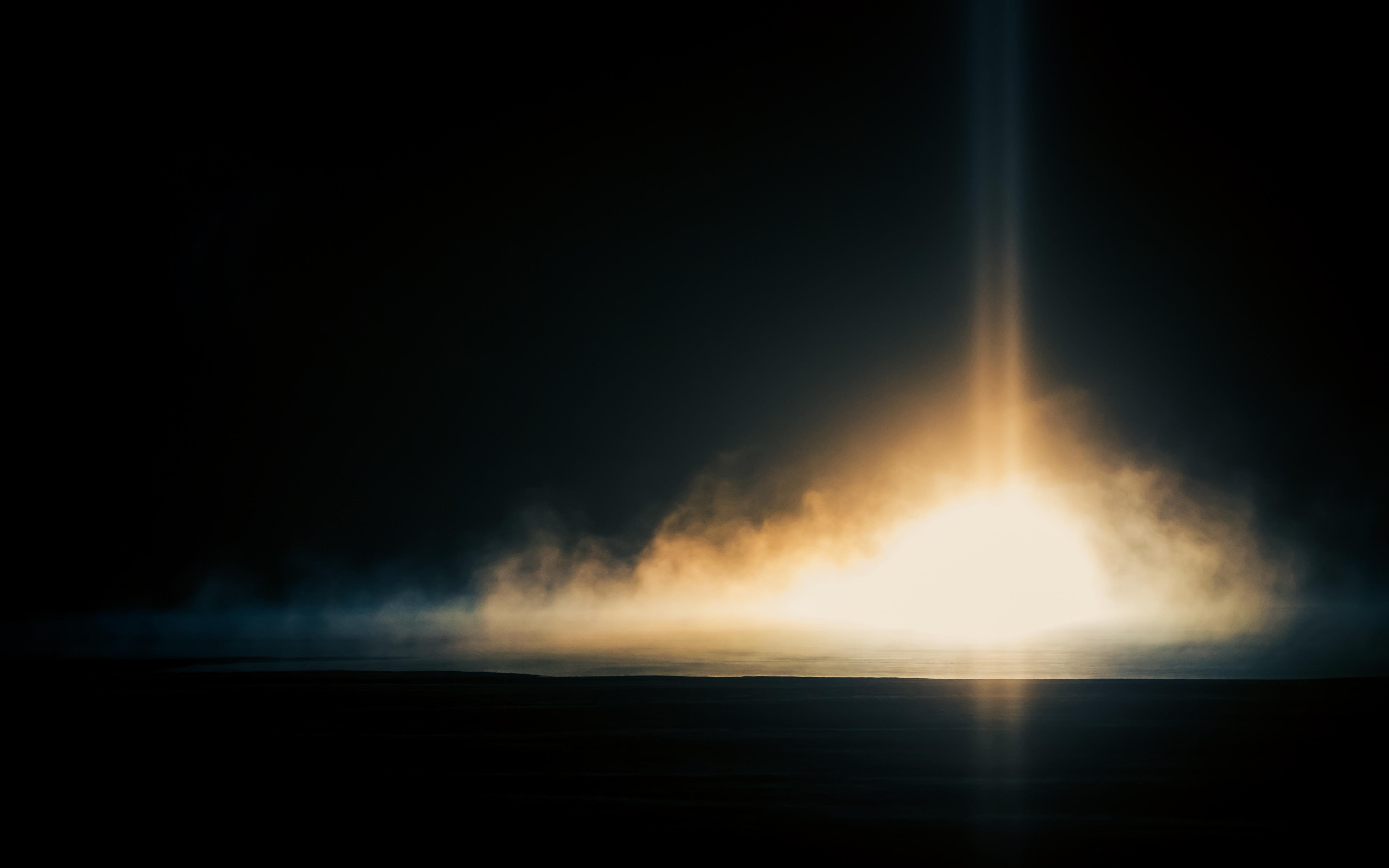 Bang! By Jaakko Moilanen, cold, fog, mist, sun, sunrise, ice, explosion