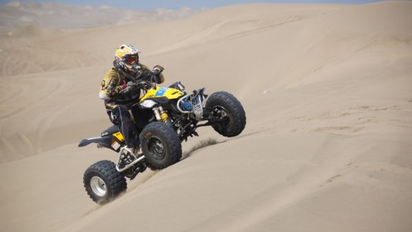 Racing with ATV, motorcycles, ATVs, dune, motocross, wheels, sports, extreme