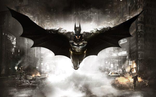 Batman Arkham Knight, video game, batman, fight, fight, night, wallpaper, game