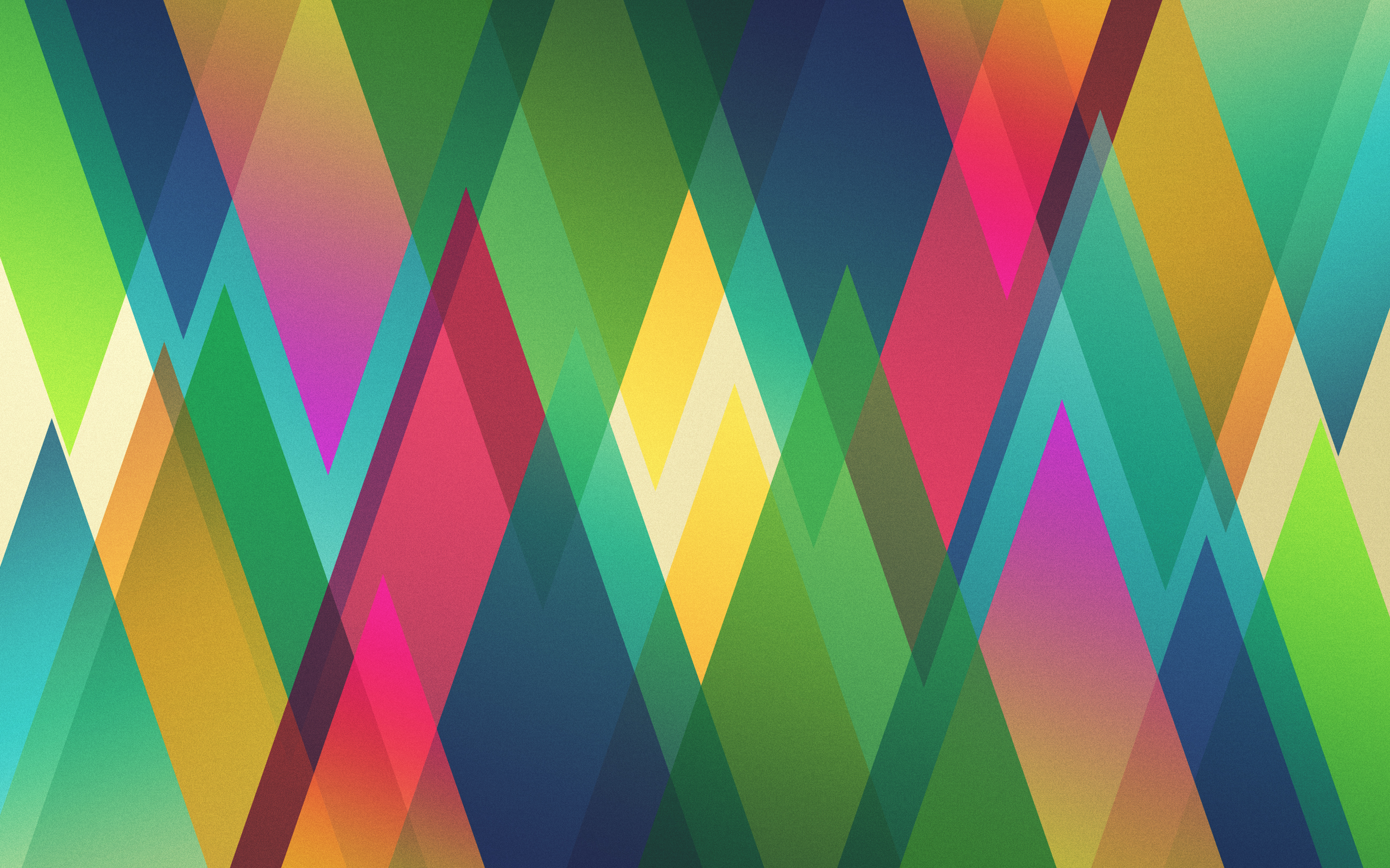 Harlequin by HeskinRadiophonic, triangles, diamonds, abstract, digital art, colors, angles
