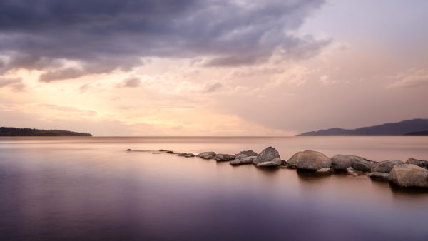 Timeout by deltron, Beach, Vancouver, British Columbia, peace, tranquility, quiet, rocks, sunrise, calm, coast, sea, water