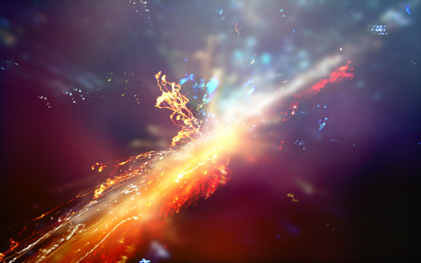 Andromeda by kon, explosion, abstract, pop, andromeda