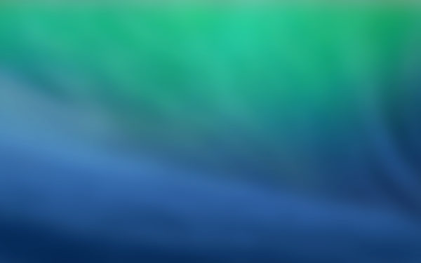 Mavericks Smooth by BenSow, mac, os, ios, wave, wallpaper, fuzzy, focus, blue, water