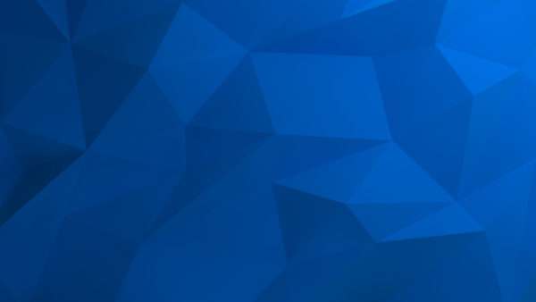 Skive by LunarPixel, triangles, blue, angles, wallpaper, abstract, digital art