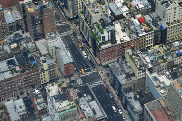 Manhattan, new york, roofs, terraces, buildings, brooklyn, city