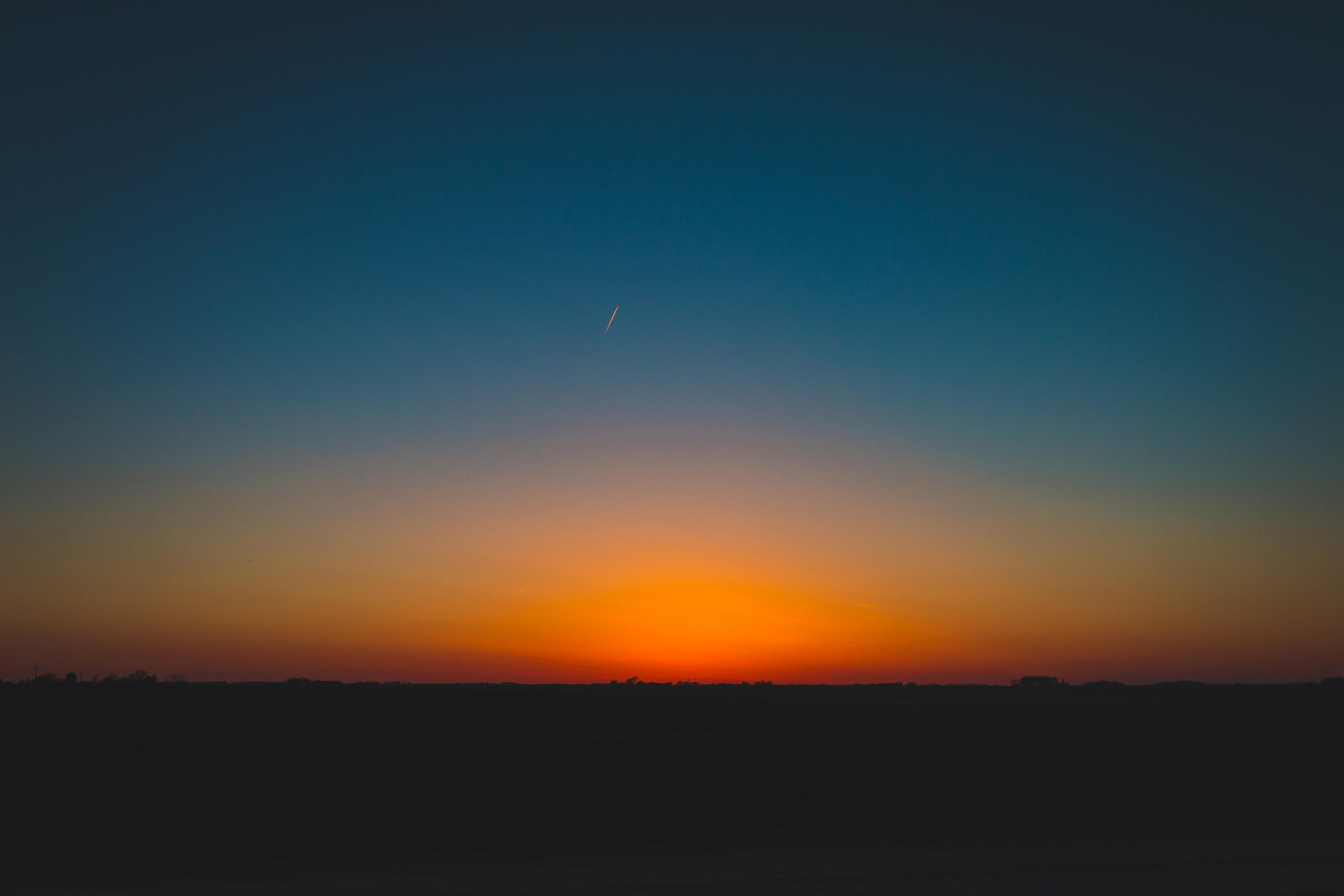 Beautiful sunset, afternoon, sunset, dusk, sky, night, evening, dark, silhouette, shadow, landscape, nature