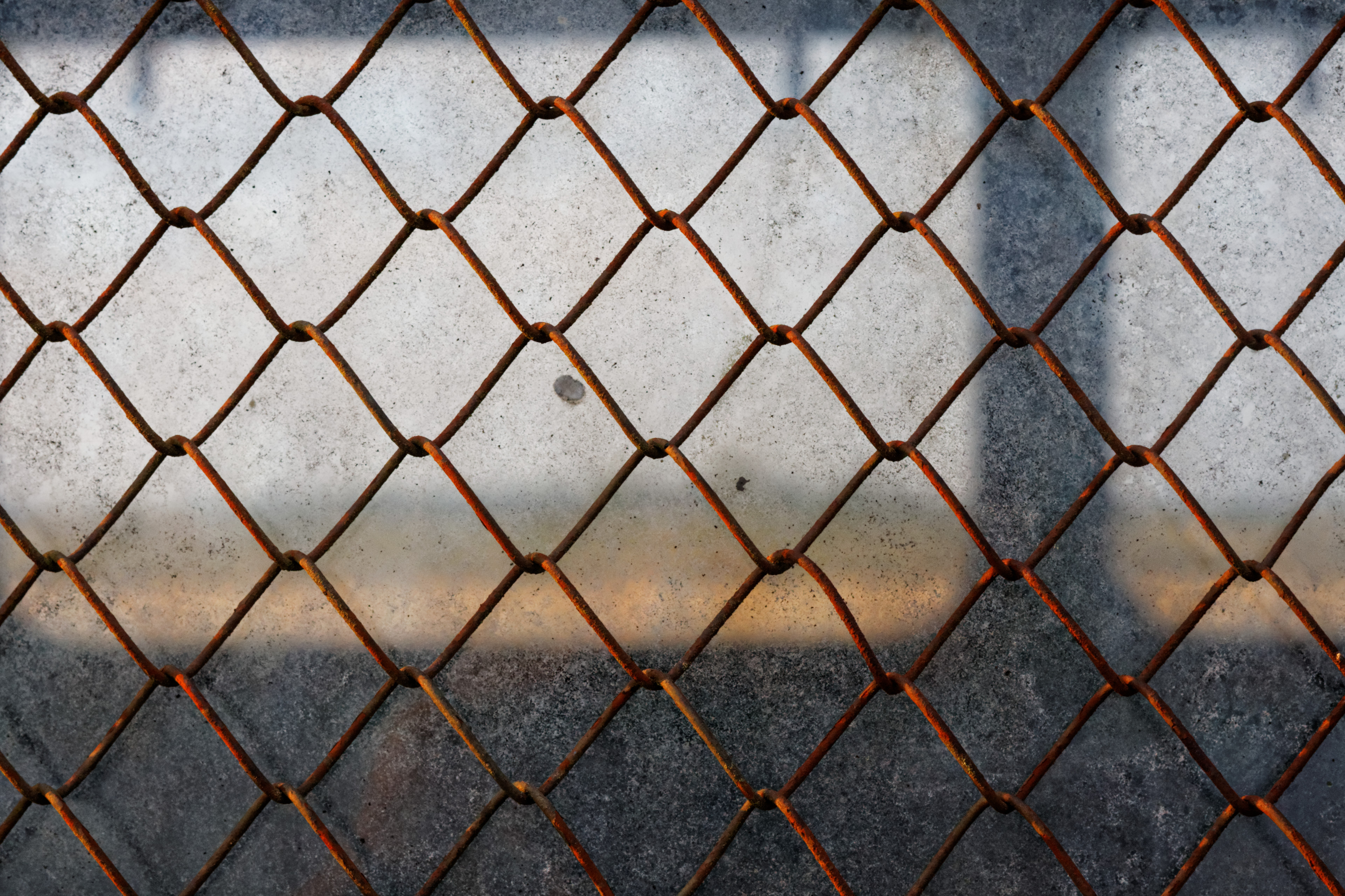 Fence, fence, perimeter, rust, metal, chainlink, fence, wire, wiring