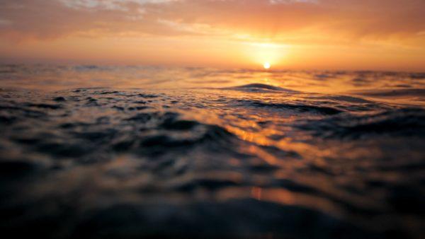 Sunset and Ocean Waves, waves, ocean, sea, beach, sunset, sun, sunshine