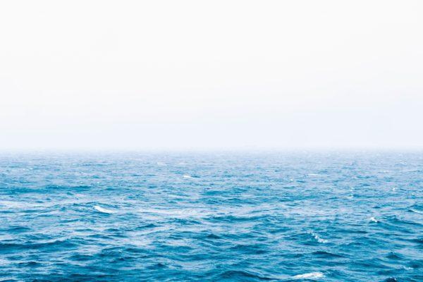 Infinite ocean, water, waves, sea, water, blue, sky, horizon, outdoors, nature, summer, sunshine