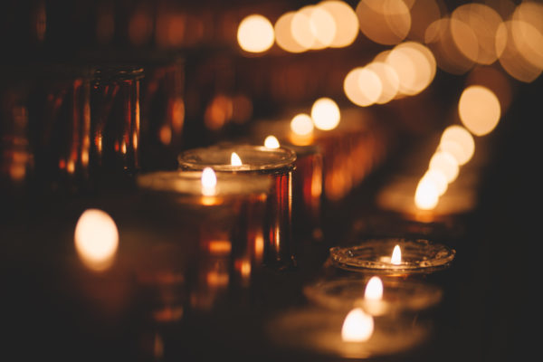Church Candles, candles, night, dark, light, soft, candlelight, flame