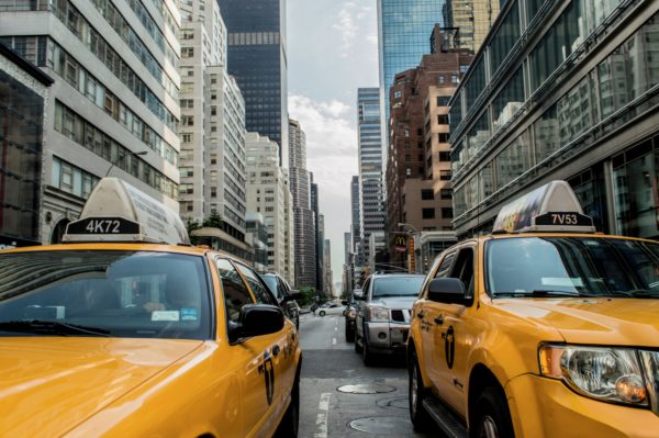 New York taxis, taxi, car, taxi, new york, street, yellow, car, manhattan