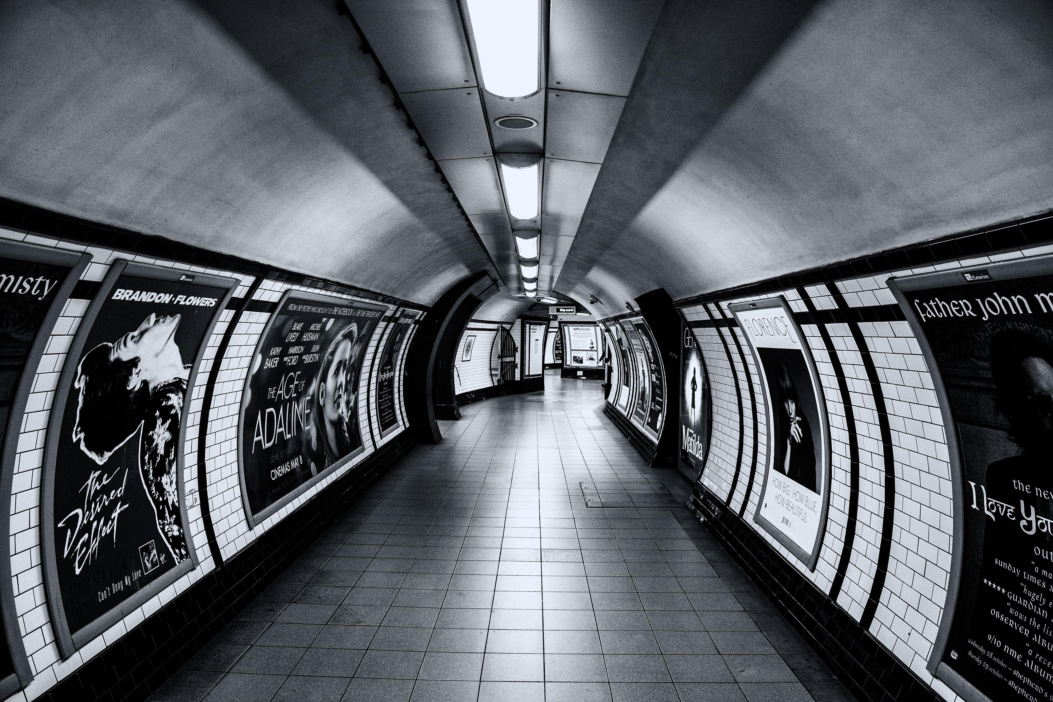 London Underground subway, underground, london, metro, train, train, subway station