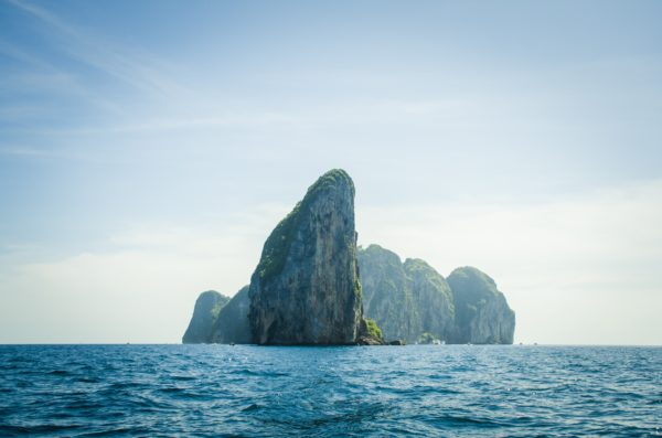 Rocky island, rock, rocks, islands, caribbean, beach, ocean, coast, sea, nature, life, air