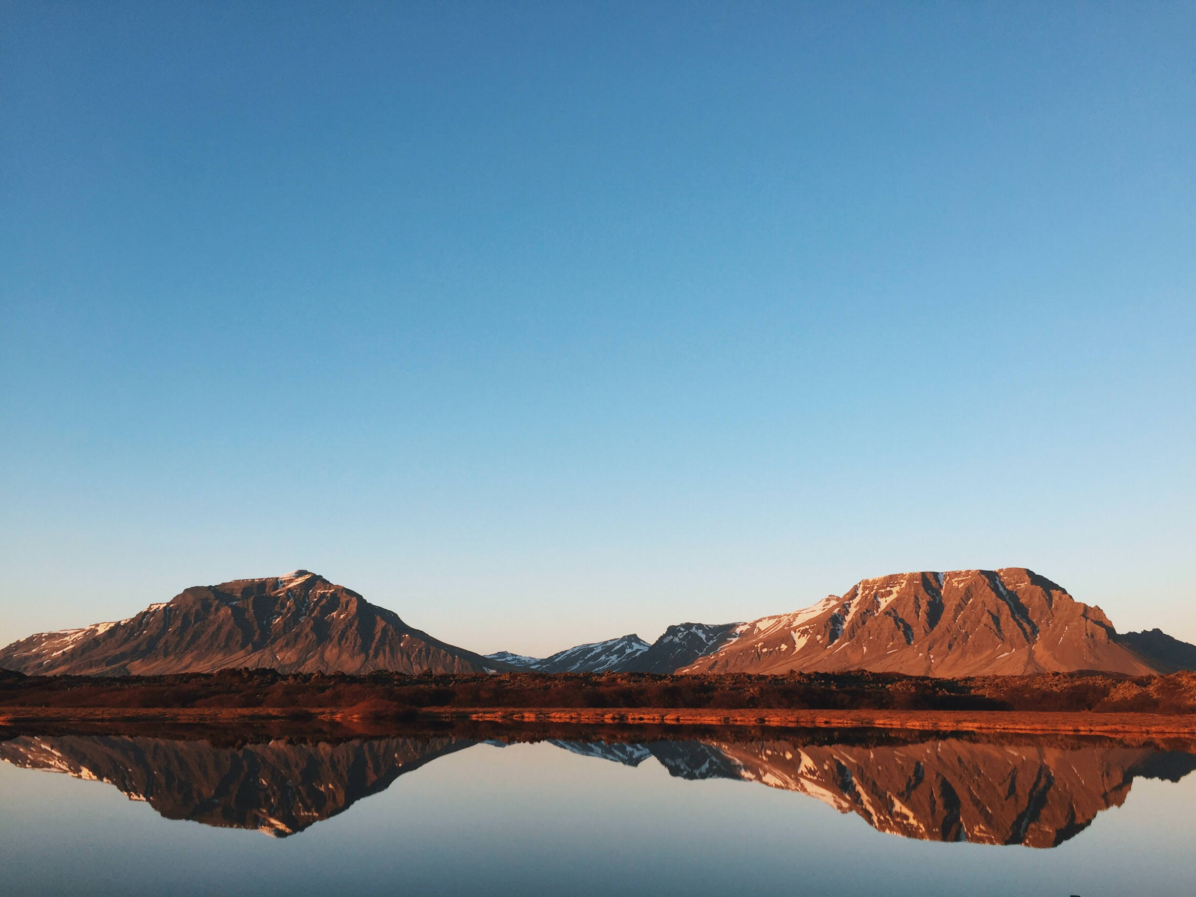 Reflection of mountains in the lake, reflection, mountains, rocky, lake, calm, landscape