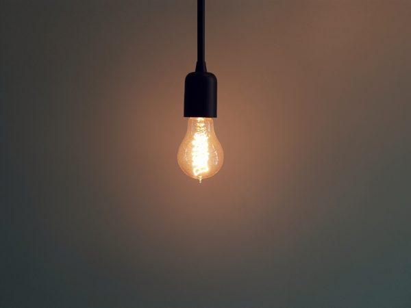 Yellow light lamp, lamp, light, yellow light bulb, bulb