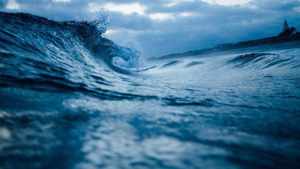 Breaking wave, wave, water, sea, coast, beach, ocean