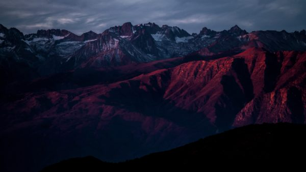 Red mountains, red, sunset, sunrise, mountains, rocky