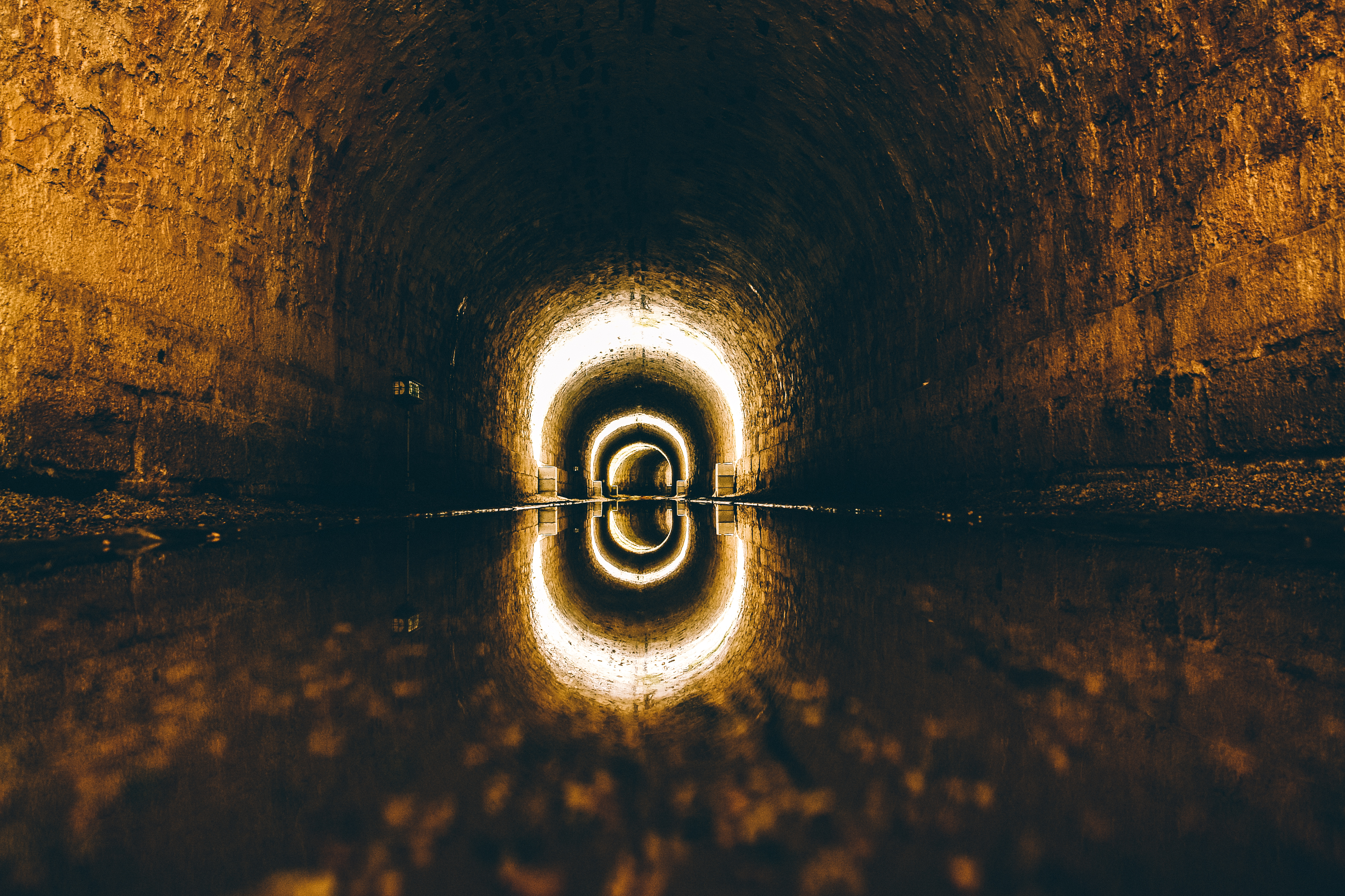 Tunel sewer, sewer, tune, water, stone, ancient