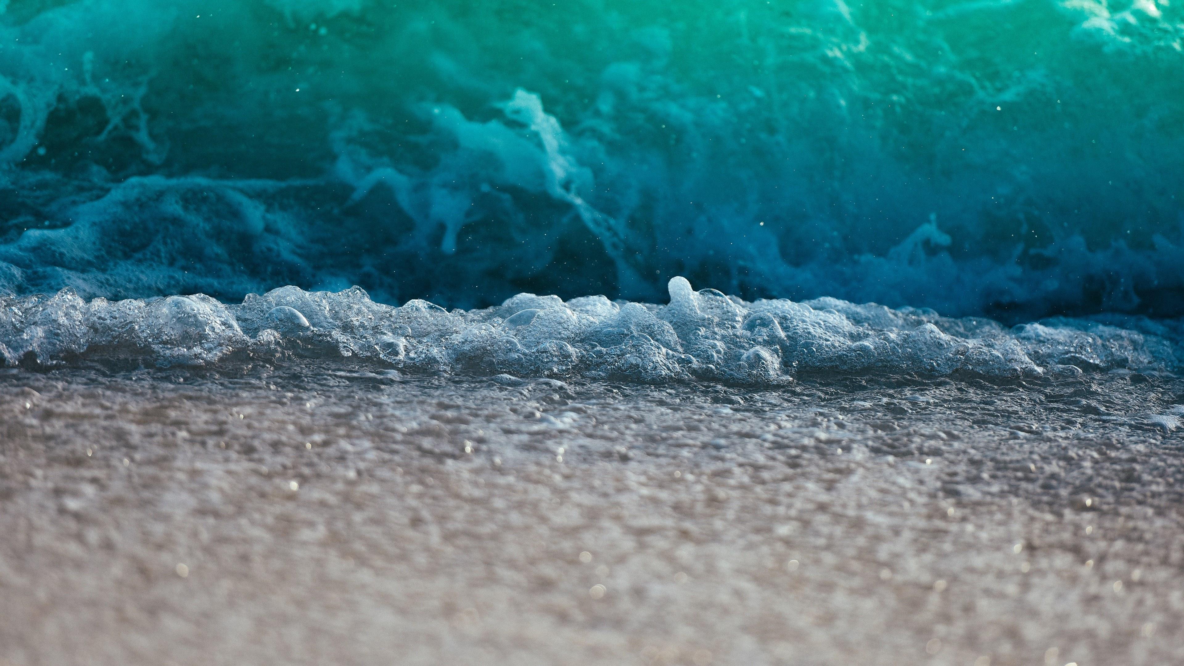 Waves on the beach Maldives, wave, water, beach, coast, ocean, sea