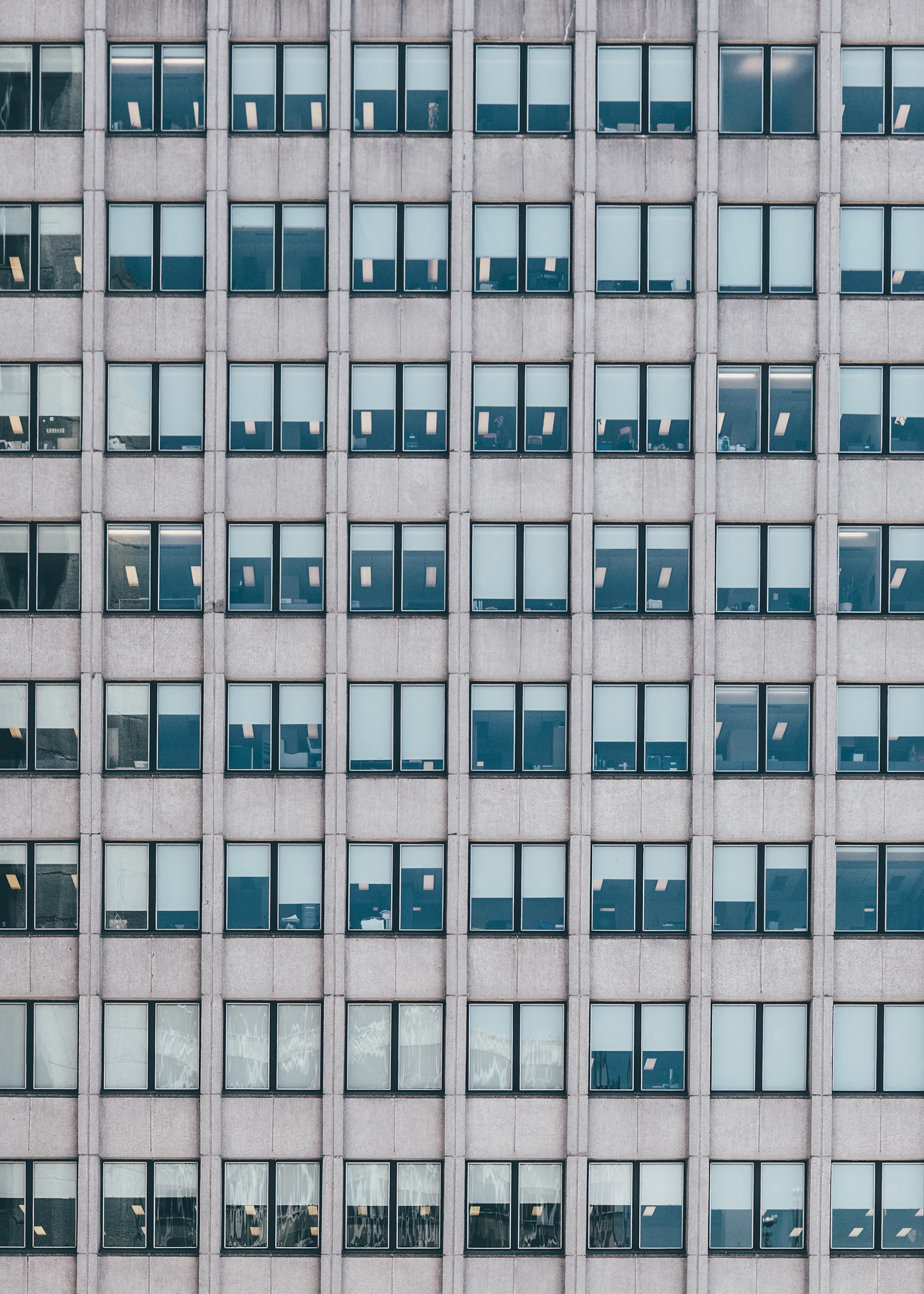 Repetition, architecture, windows, symmetry, equal