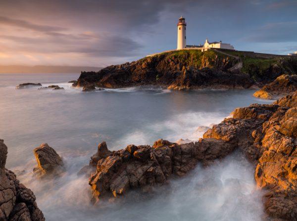 lighthouse among the rocks