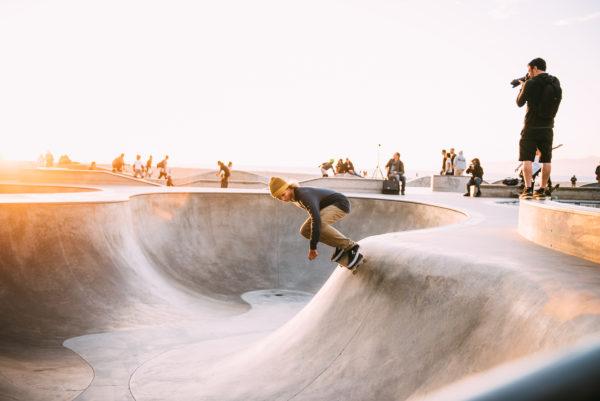Skate park, skaters, sports, park, photographer, sunset, skateboard